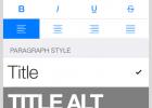 iPad Keynote使用段落样式